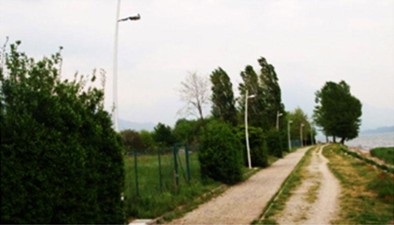 Lampade su palo – passeggiata Gravedona