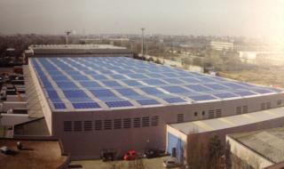 Impianto fotovoltaico di 1 MW realizzato su capannone